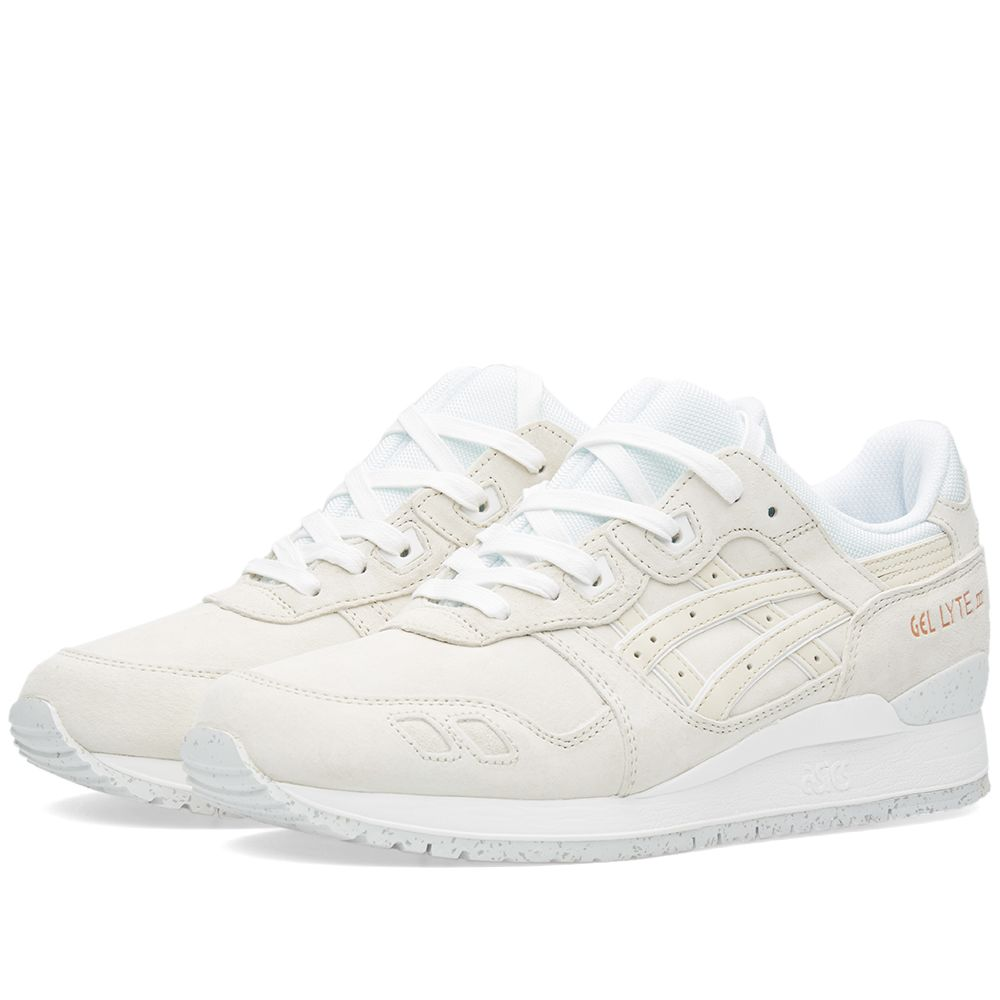 Asics Gel Lyte III  Rose Gold . Off White.  155  105. Plus Free Shipping.  image bc13f9afd9905