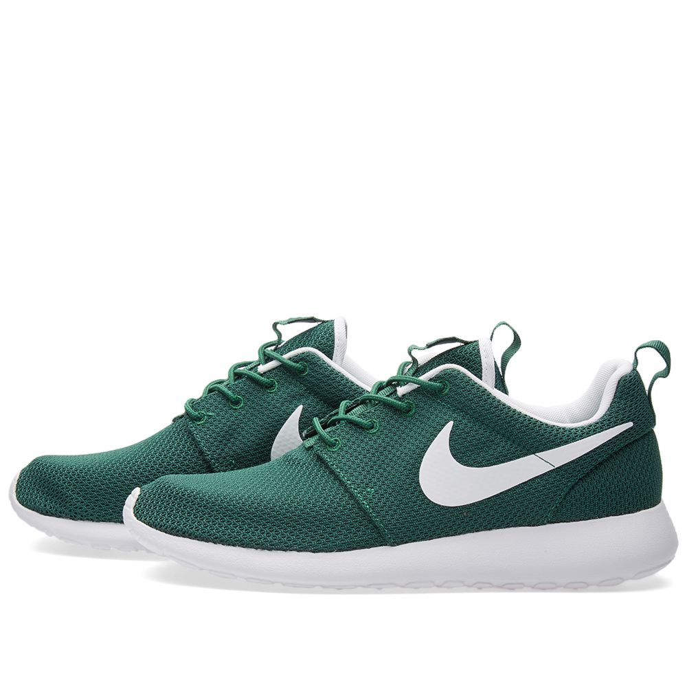 huge discount c67f2 d51a8 Nike Roshe One Gorge Green  END.