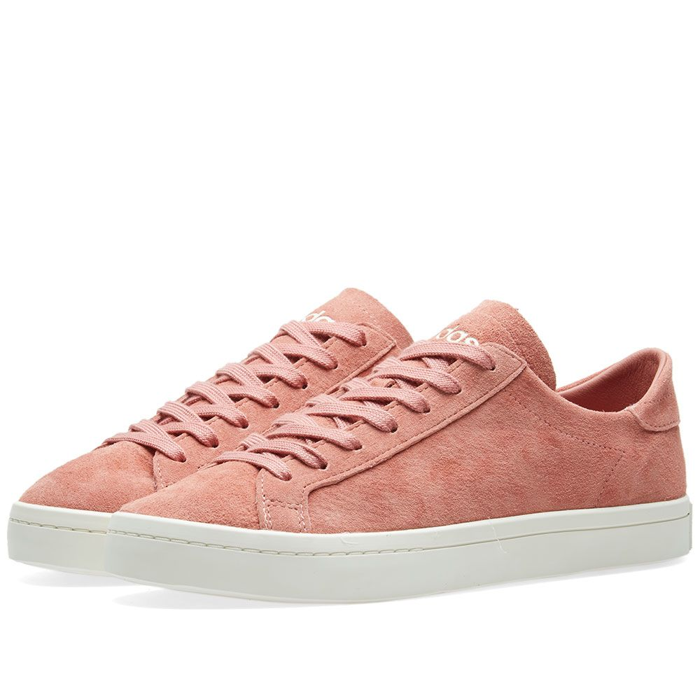 hot sale online 663f6 95ad5 Adidas Court Vantage W Ash Pink  Off White  END.