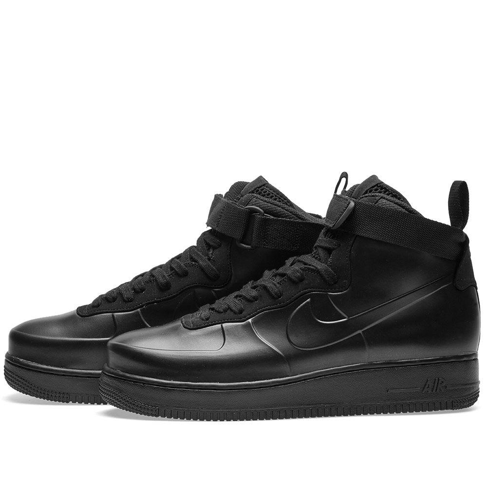 f9f1674e341 Nike Air Force 1 Foamposite Cupsole Black