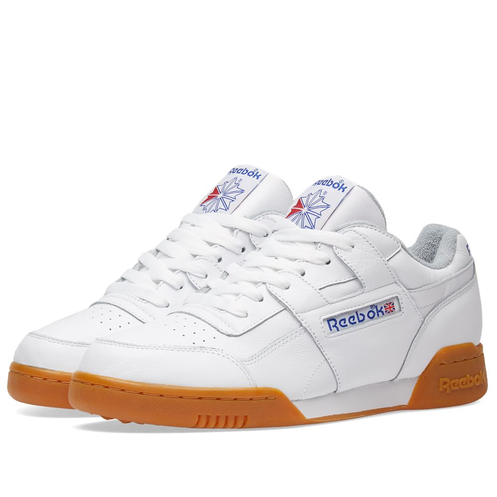 fa5c10037397 Reebok Workout Plus R12 White   Gum