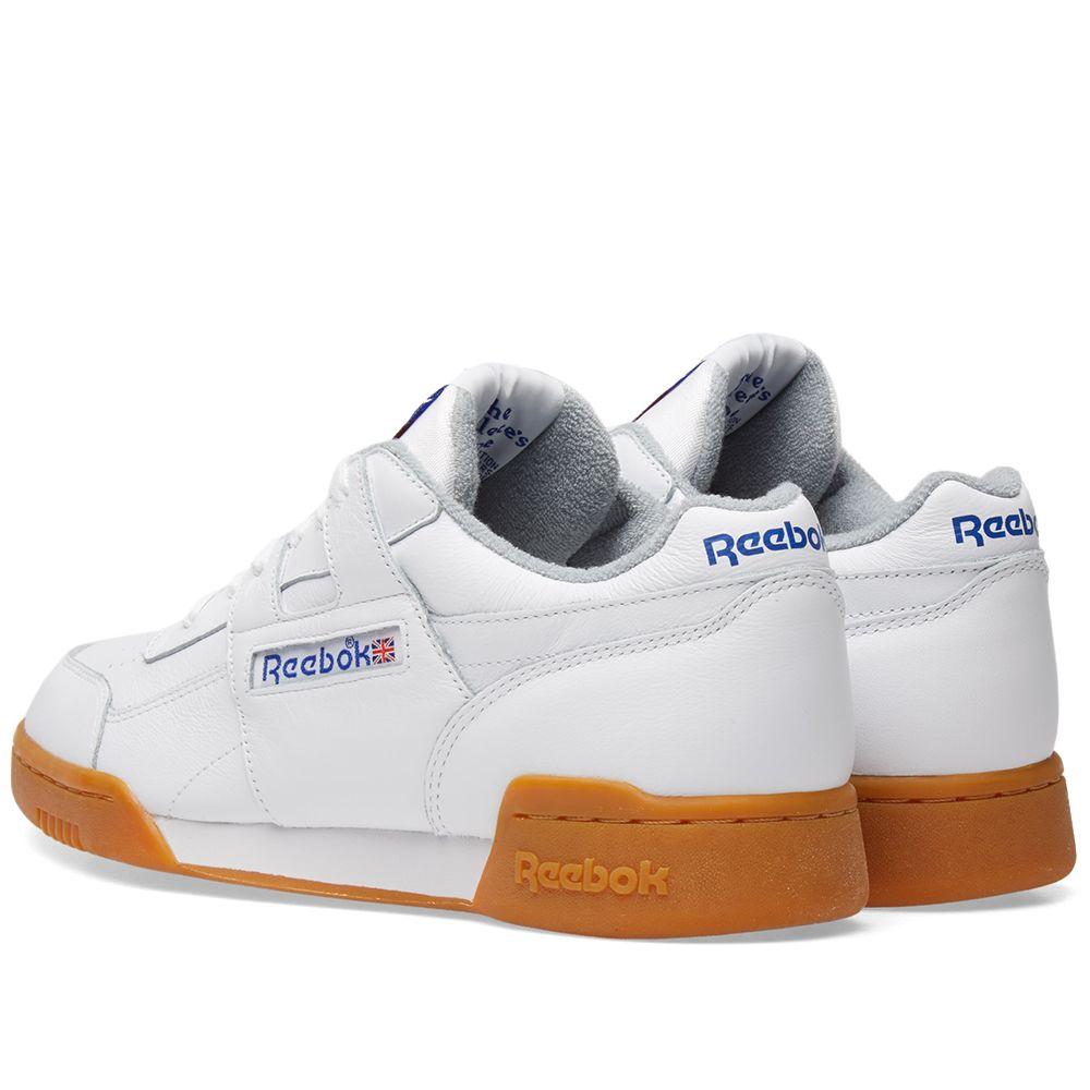 34fd073e7664f Reebok Workout Plus R12 White   Gum