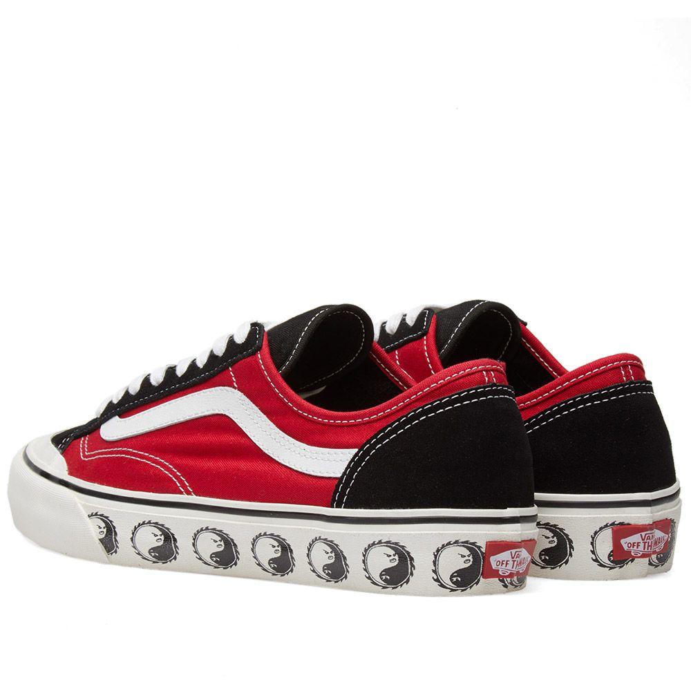 5f5f1631a7 Vans x Dane Reynolds Style 36 Decon Black   Red