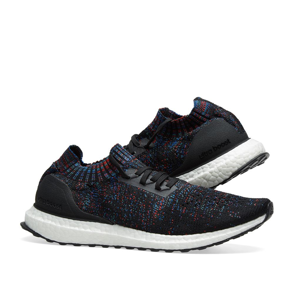 check out f92c1 035eb Adidas Ultra Boost Uncaged. Core Black, Active Red  Blue