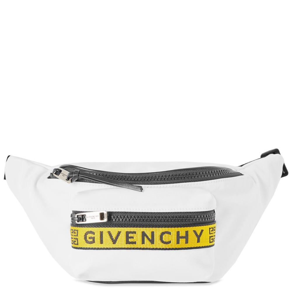 6f8f724916 Givenchy 4G Webbing Bum Bag White   Yellow