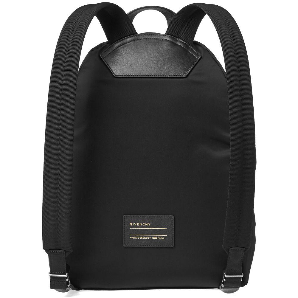 da3a9378e7c7 Givenchy Faded Nylon Backpack Black   White