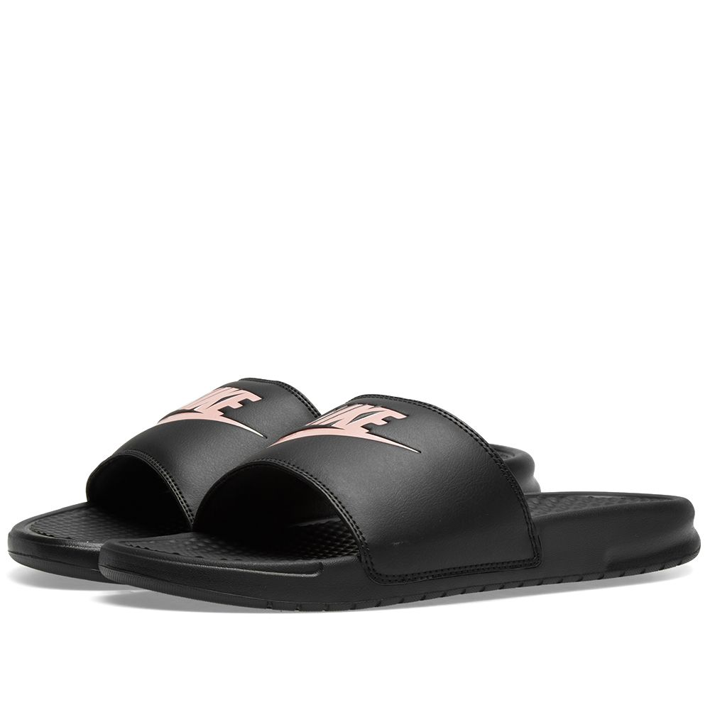 sale retailer d573b 05323 Nike Benassi JDI W Black  Rose Gold  END.