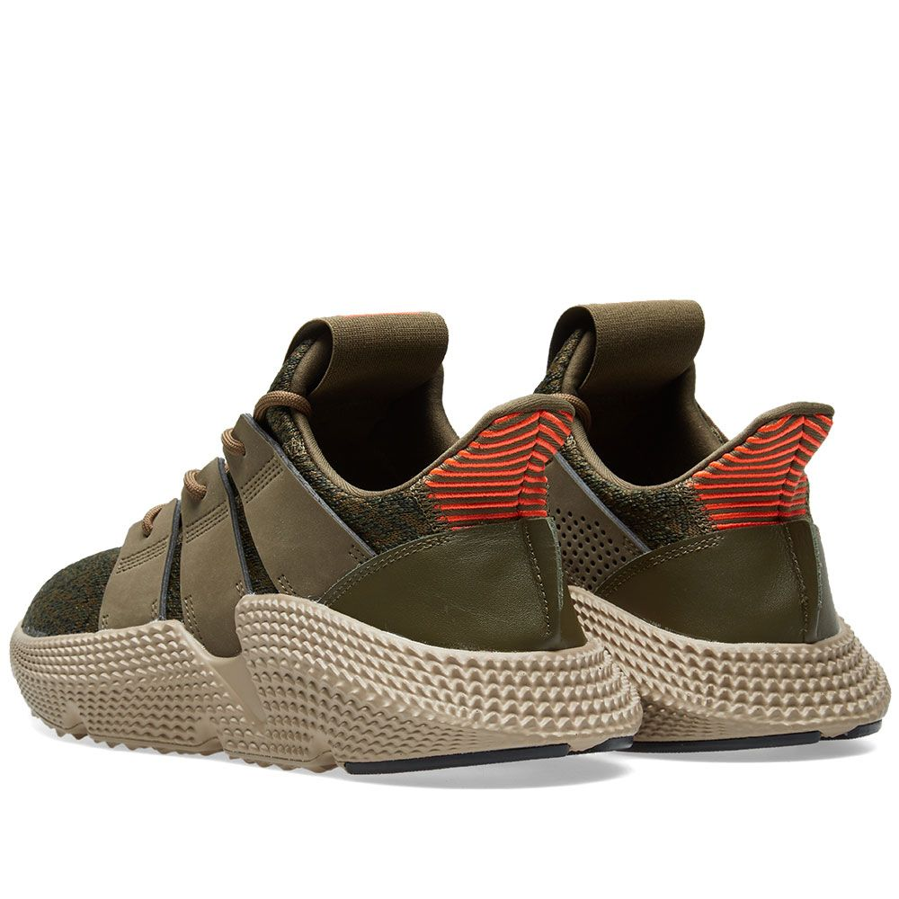baa37553b3e Adidas Prophere Trace Olive   Solar Red