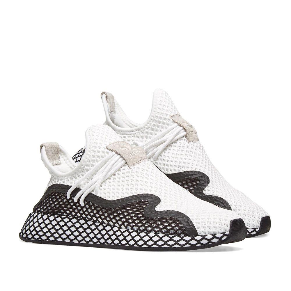 Adidas Deerupt S Runner White   Core Black  38ae886ee