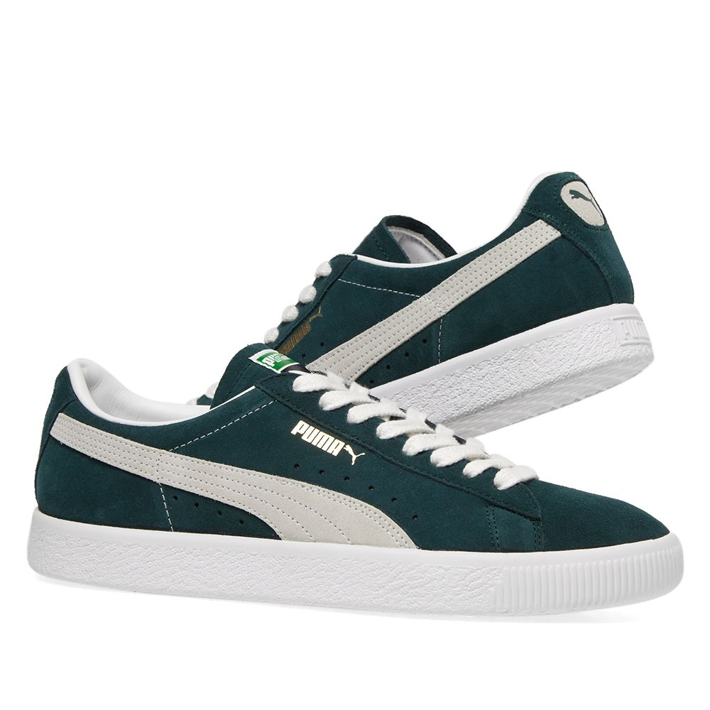 390ac3014dc Puma Suede 90681 OG Ponerosa Pine   White