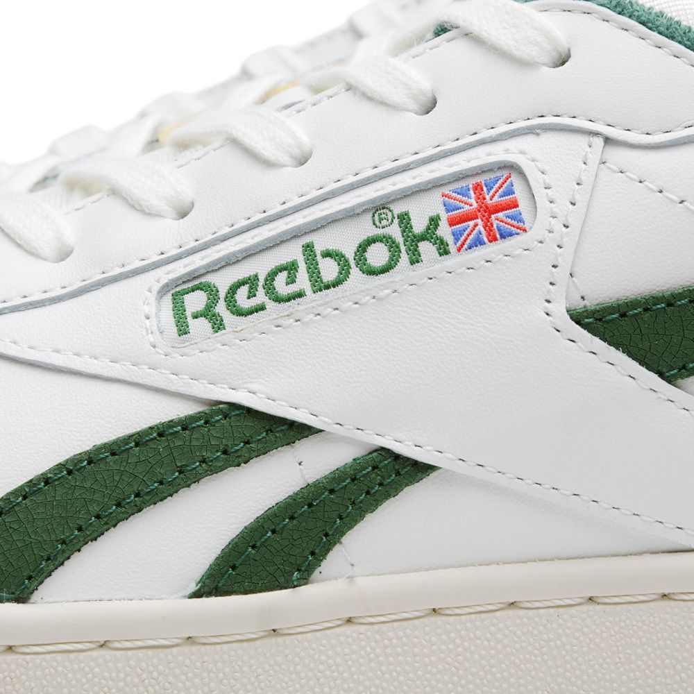 Reebok NPC UK OG Chalk   Racing Green  eec1f7816