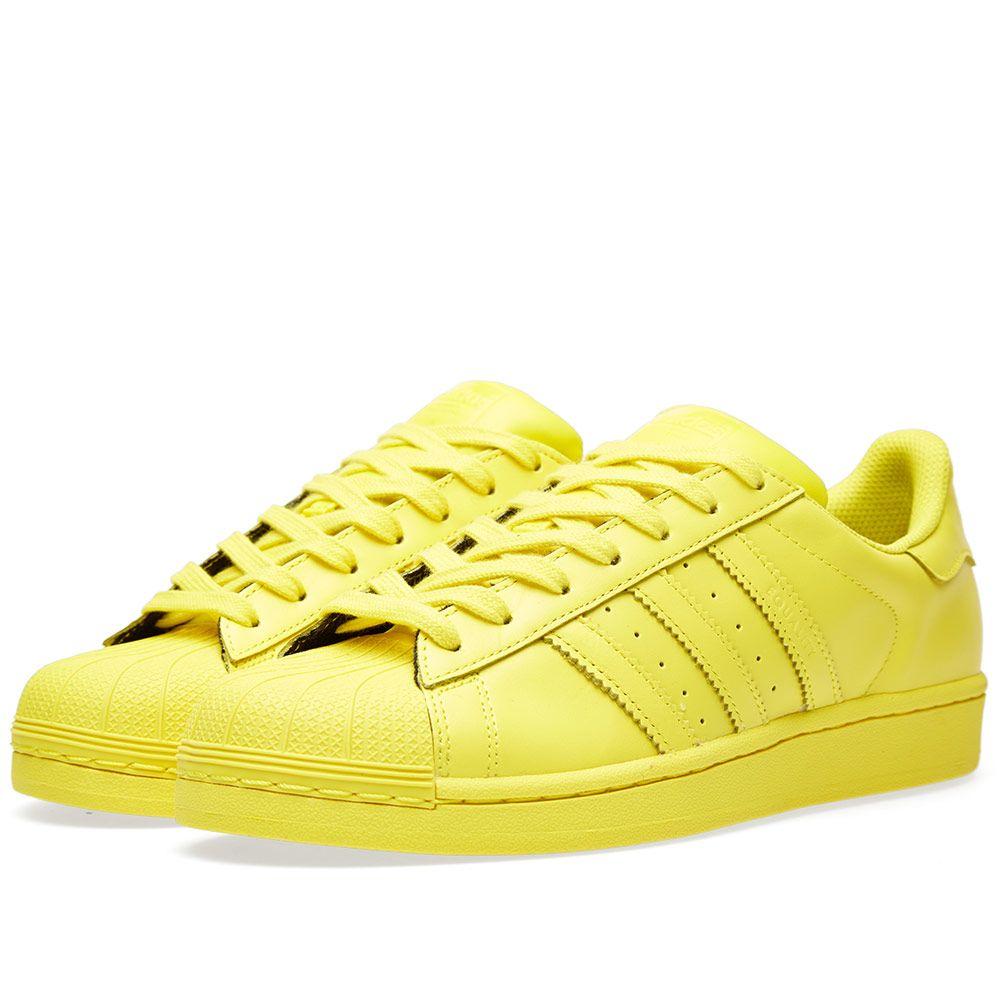 6badcc912fe33 Adidas x Pharrell Superstar  Supercolour  Bright Yellow
