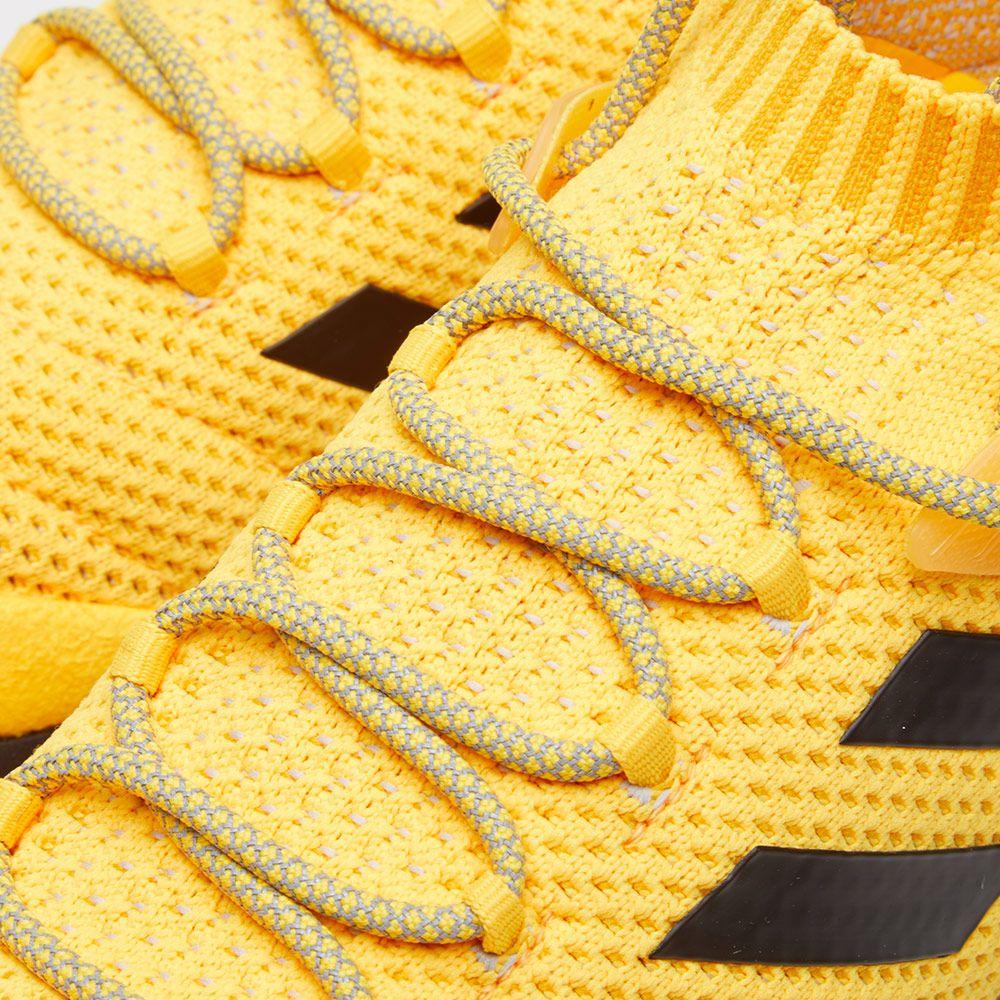 new products 392eb ab997 Gosha Rubchinskiy x Adidas Copa Primeknit Boost Mid Sneaker. Orange