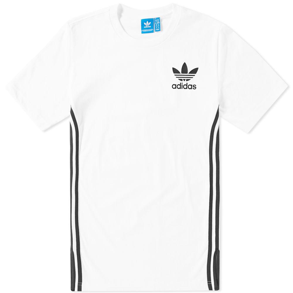 Adidas Elongated Tee White  2ab9603cb235