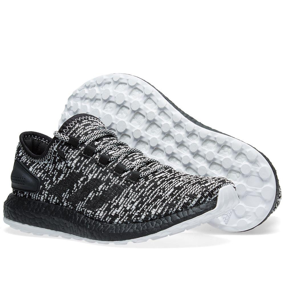 Adidas Pure Boost Ltd Core Black   White  b4a042964