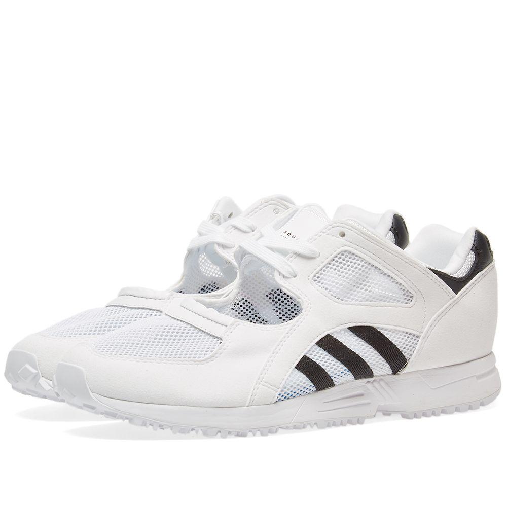 free shipping 8b90b 3112a Adidas Womens EQT Racing 91 W White  Black  END.