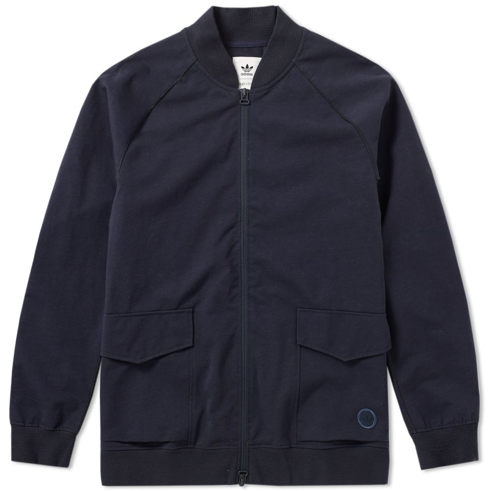 save off 5ab01 e8104 Adidas x Wings + Horns Superstar Track Top Night Navy  END.