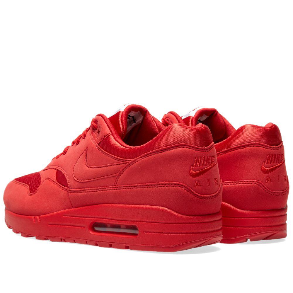 uk availability 1efca 34ae7 Nike Air Max 1 Premium University Red   END.