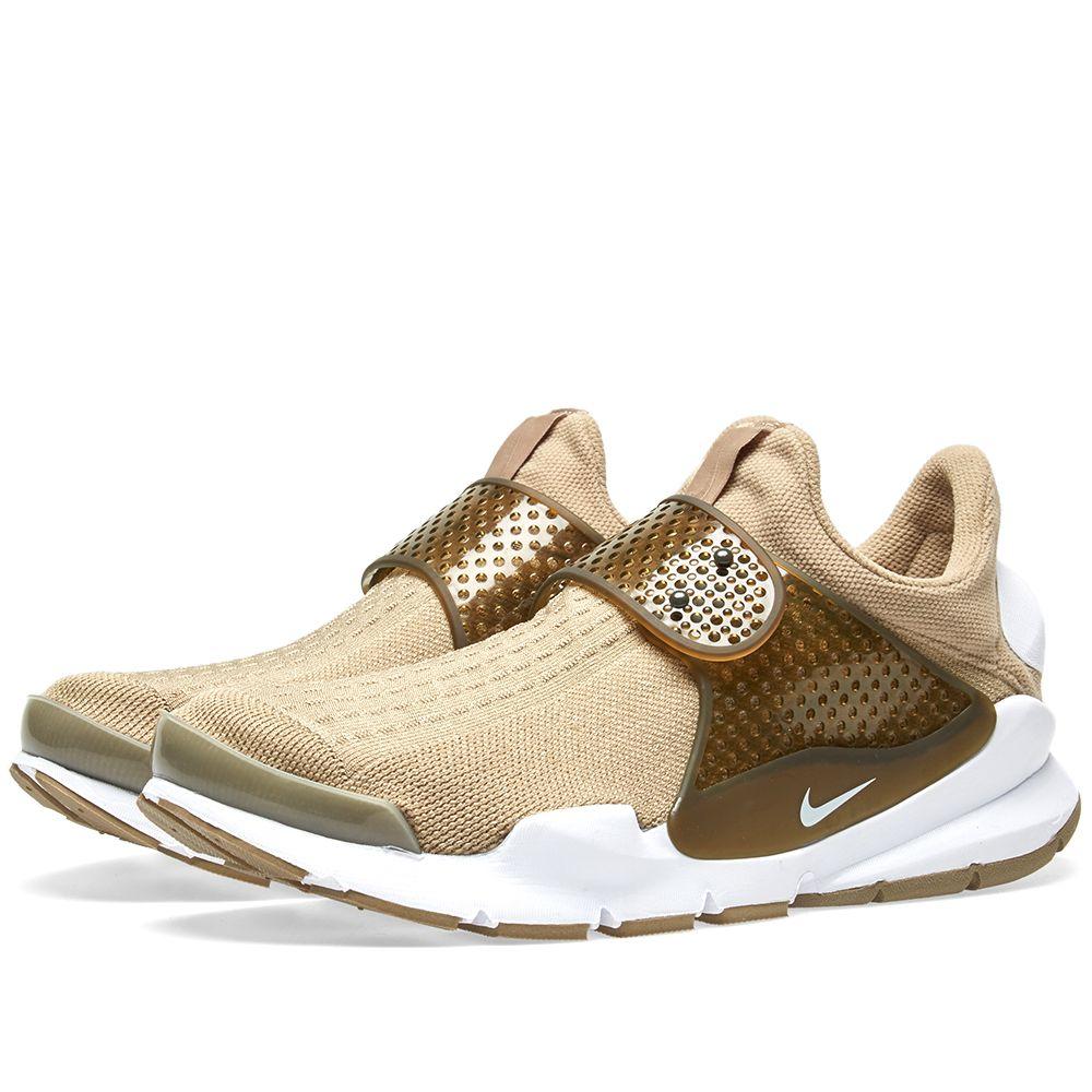 93a75962600d Nike Sock Dart KJCRD Khaki   White