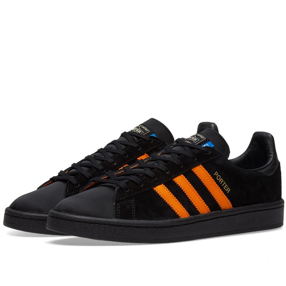 5fff38ad32c7 Adidas x Porter Campus Black