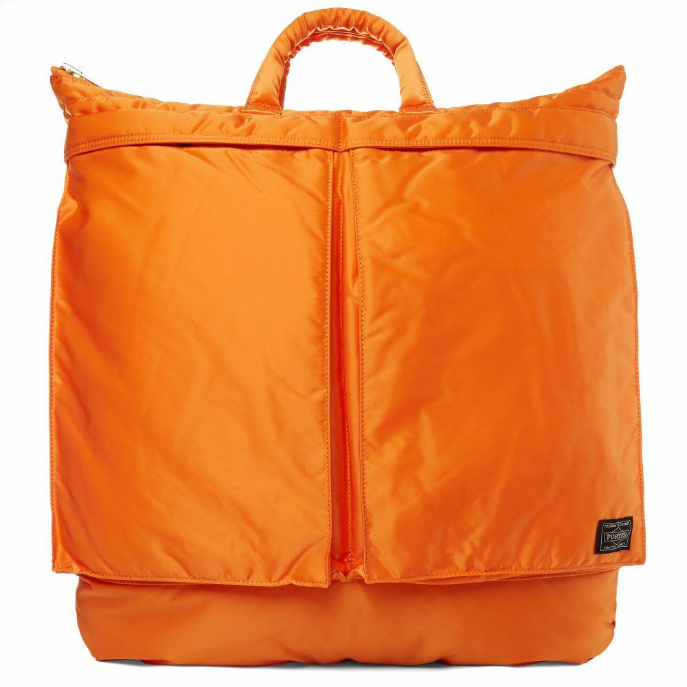 6b1515fdd7 Porter-Yoshida   Co. Tanker 2Way Helmet Tote Indian Orange