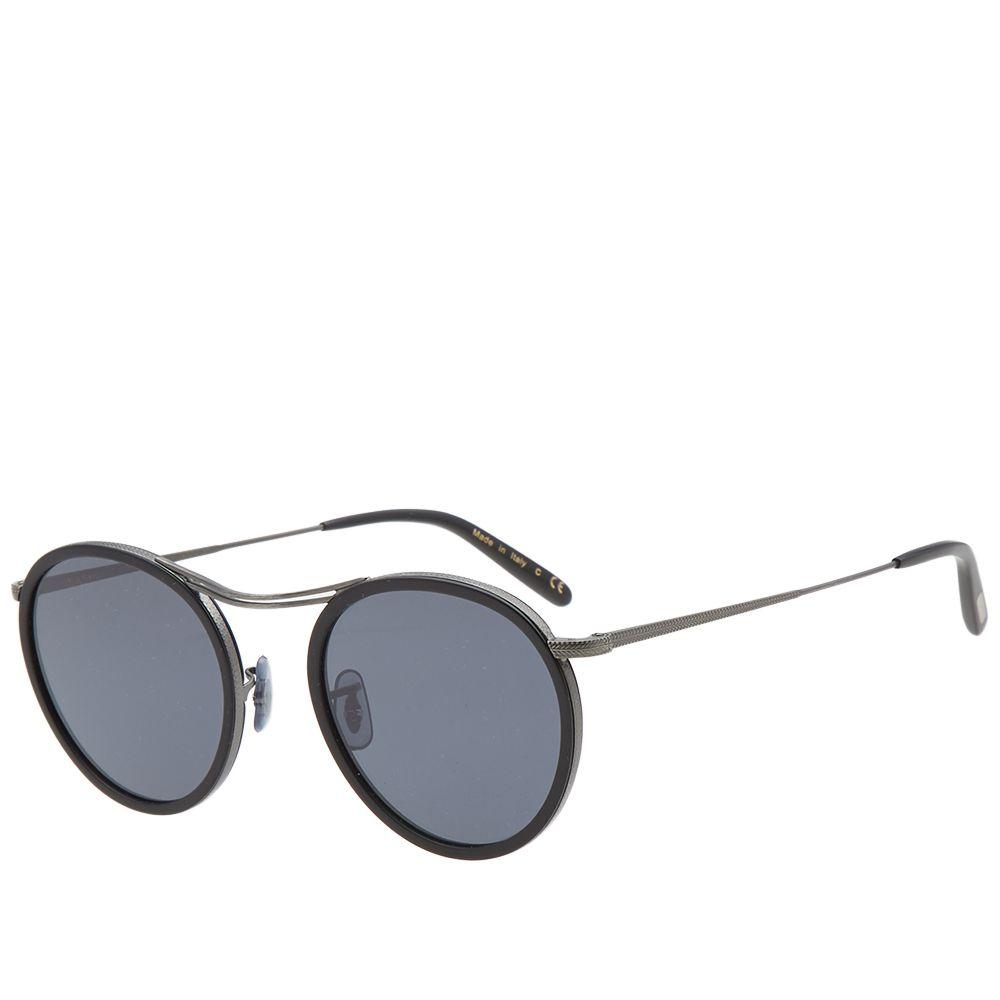 c90d0aeca09 Oliver Peoples MP-3 Sunglasses Antique Pewter