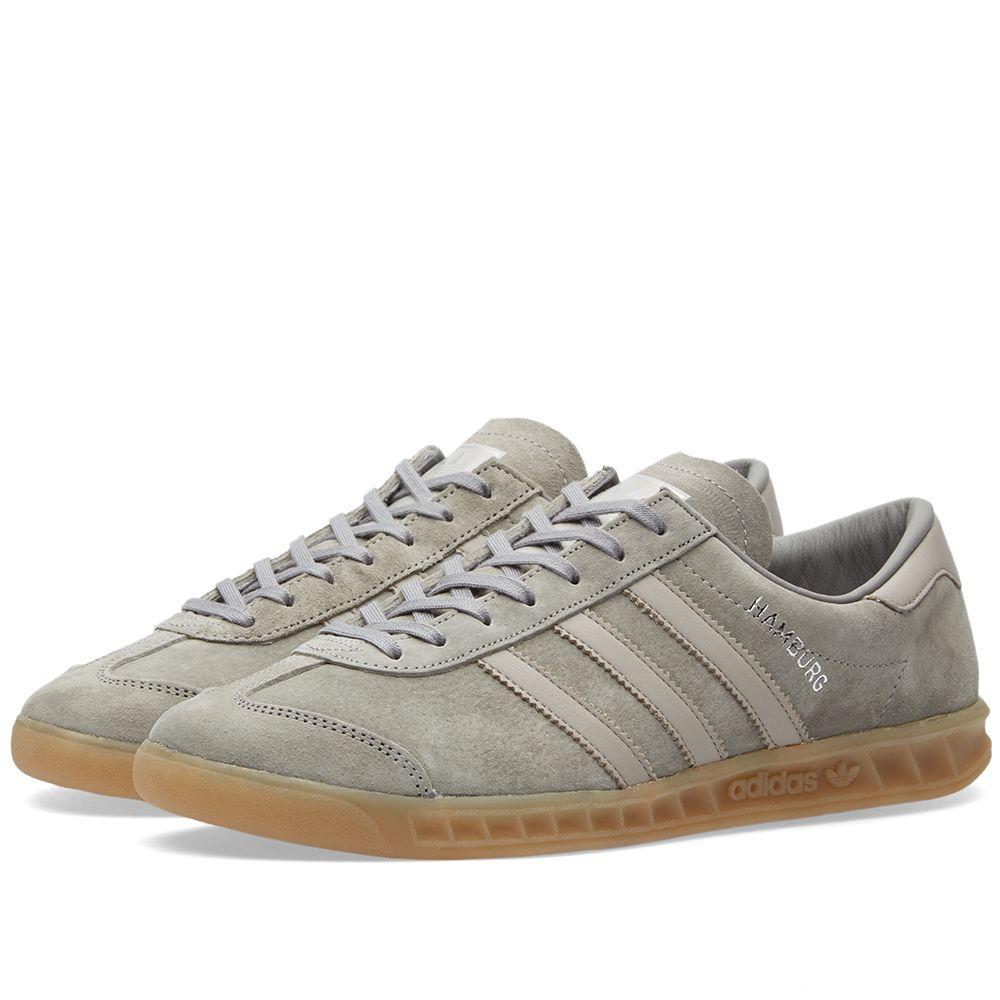 f97d4c41c396 Adidas Hamburg Clear Granite   Clear Grey