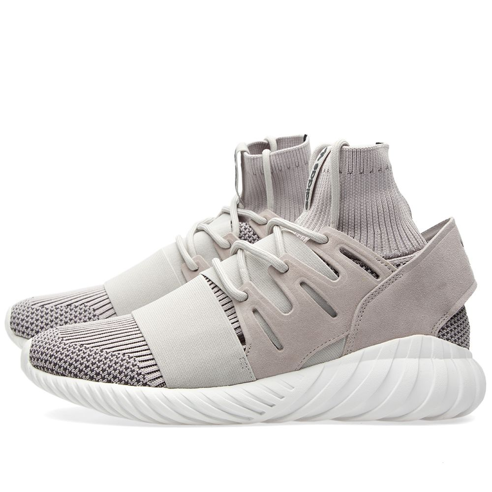 177fc8bdb95e Adidas Tubular Doom PK Clear Granite   Vintage White