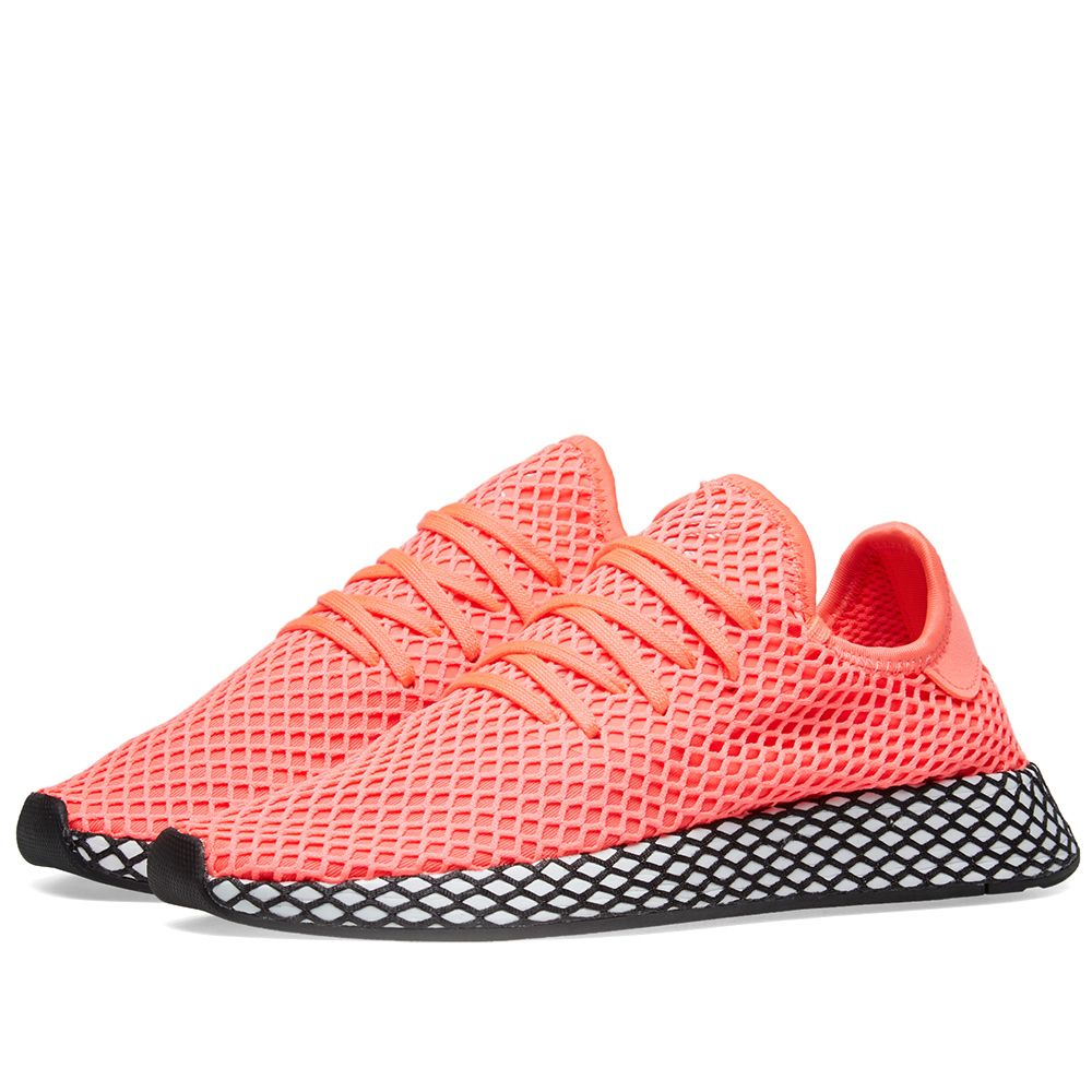 reputable site f5f8b d7f40 Adidas Deerupt Runner Turbo  Core Black  END.
