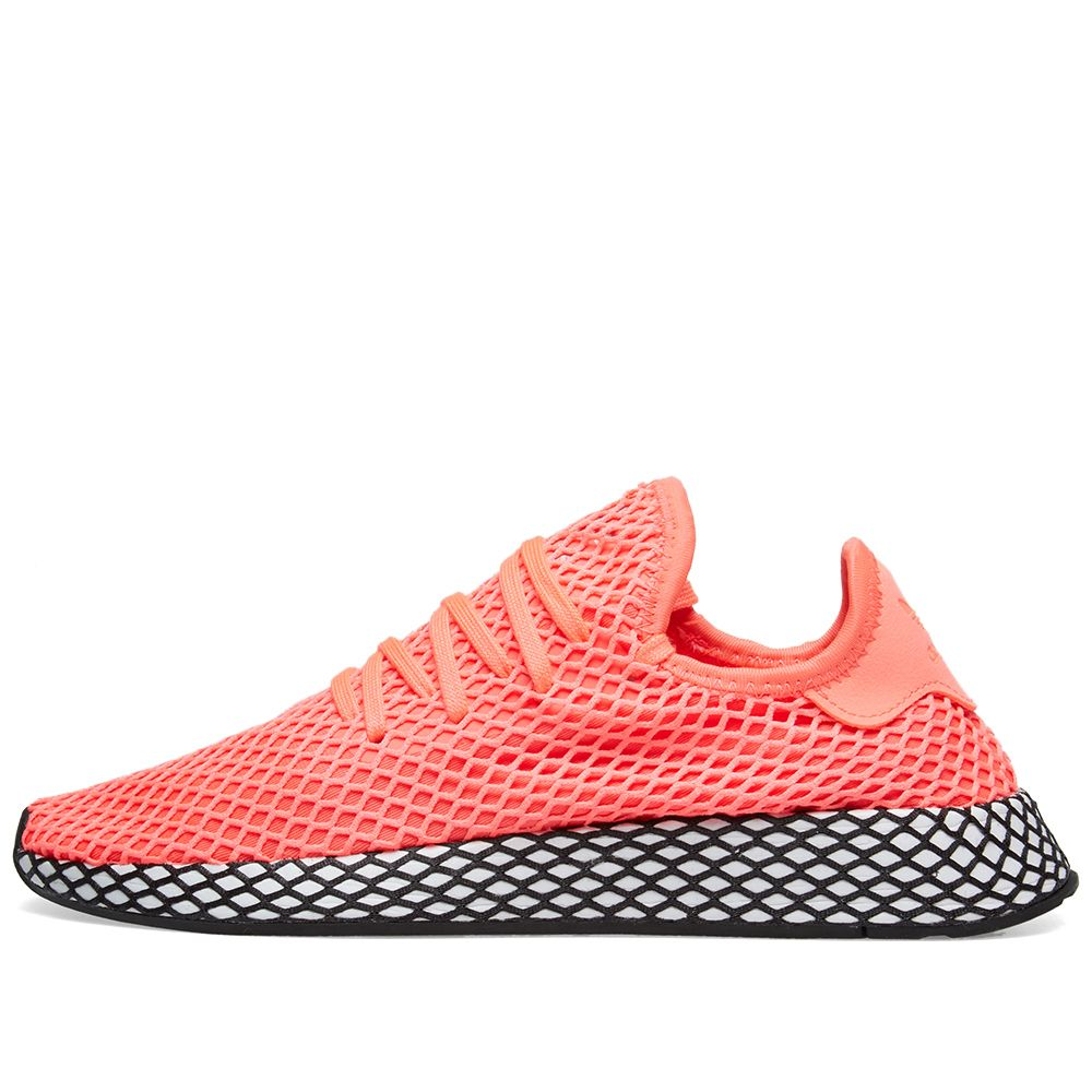 87e0ea28664ab Adidas Deerupt Runner Turbo   Core Black
