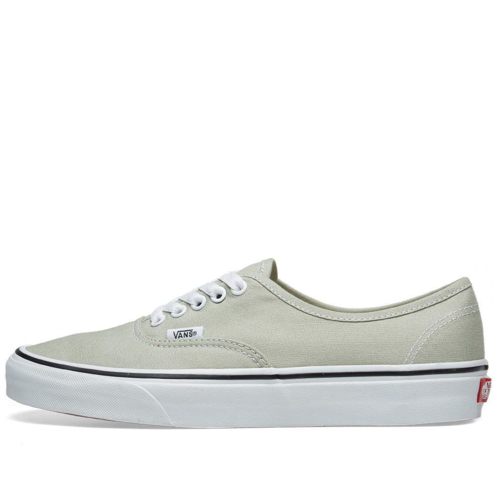 35e8931c64 Vans Authentic Desert Sage   True White