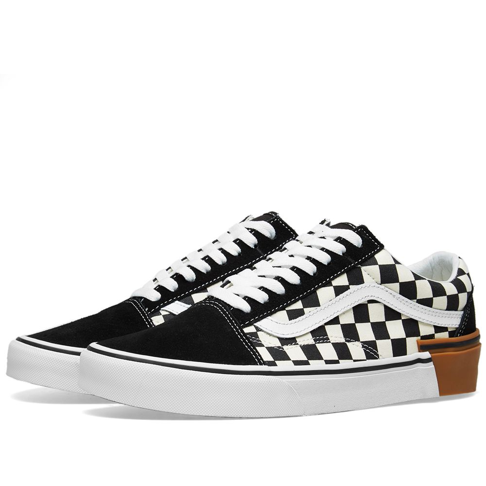 Vans Old Skool Gum Block Checkerboard  770386d60