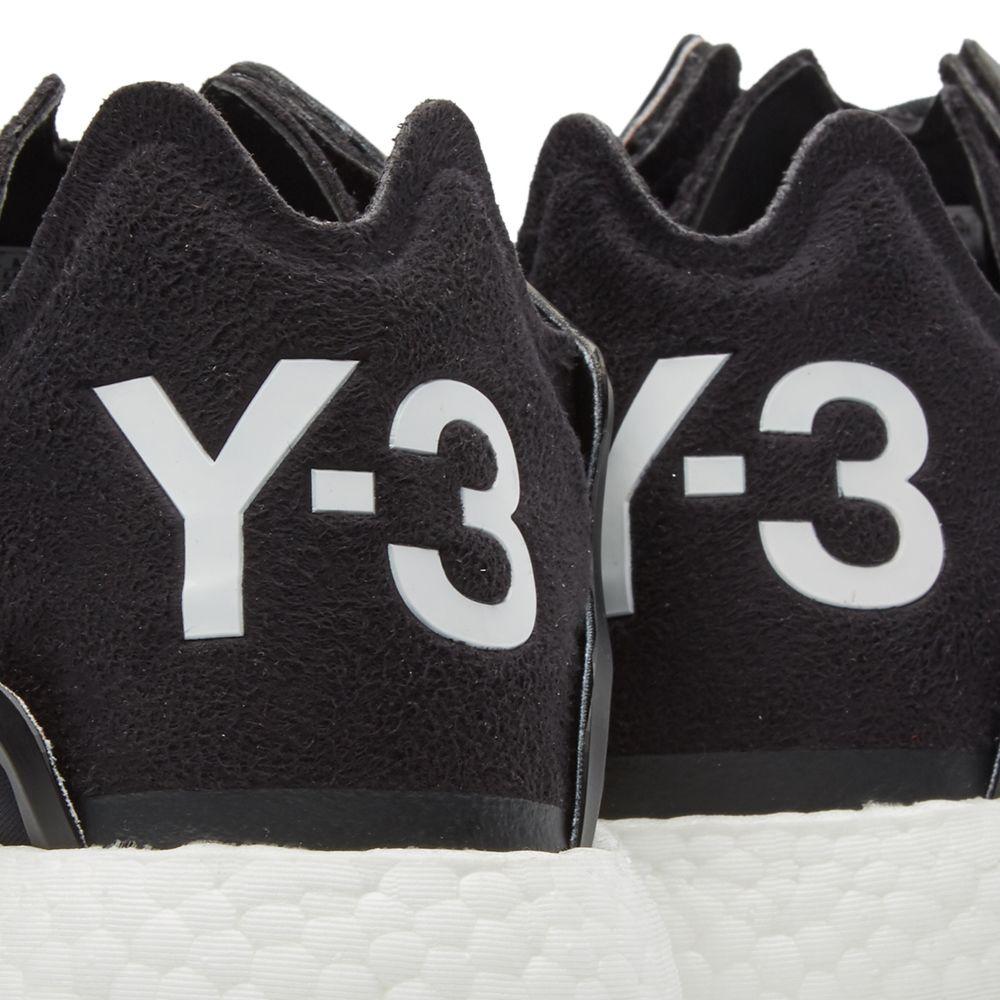 25af2a237e4b7 Y-3 Yohji Run Detritus   Core Black