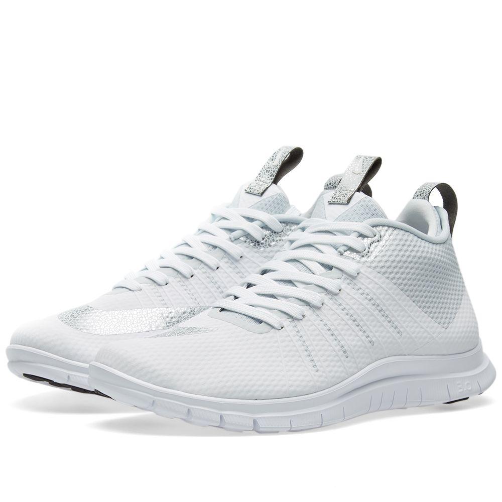 a51bc692955f Nike Free Hypervenom 2 FS White   Metallic Silver