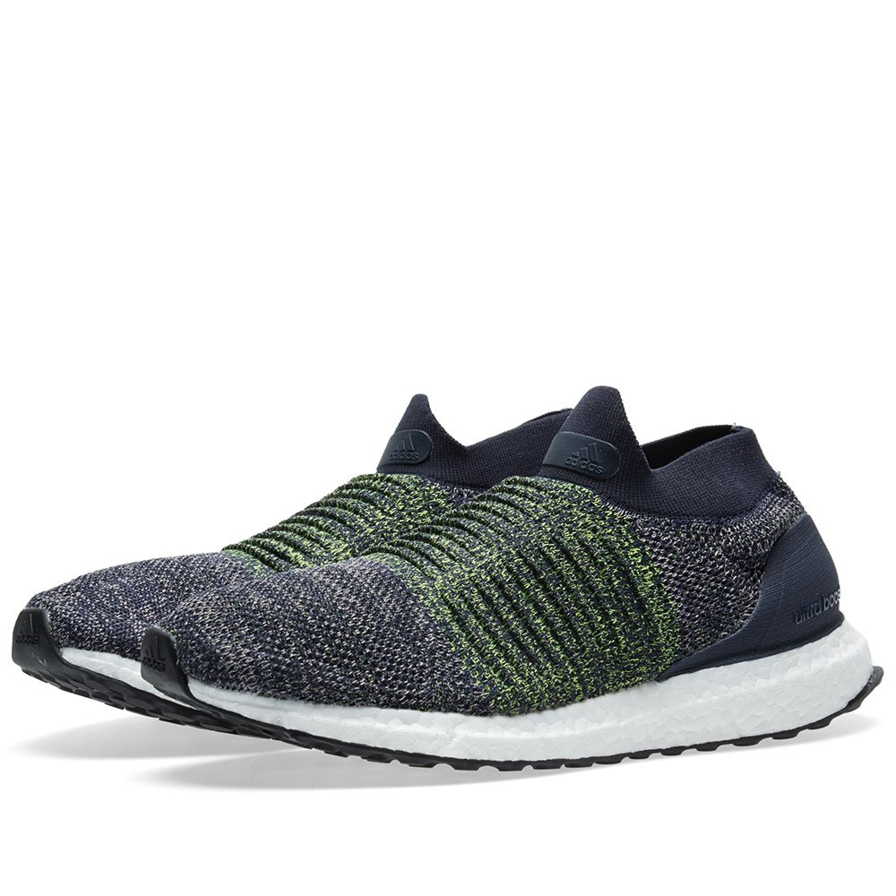 new concept 94ab4 032f0 Adidas Ultra Boost Laceless Legend Ink   Grey   END.