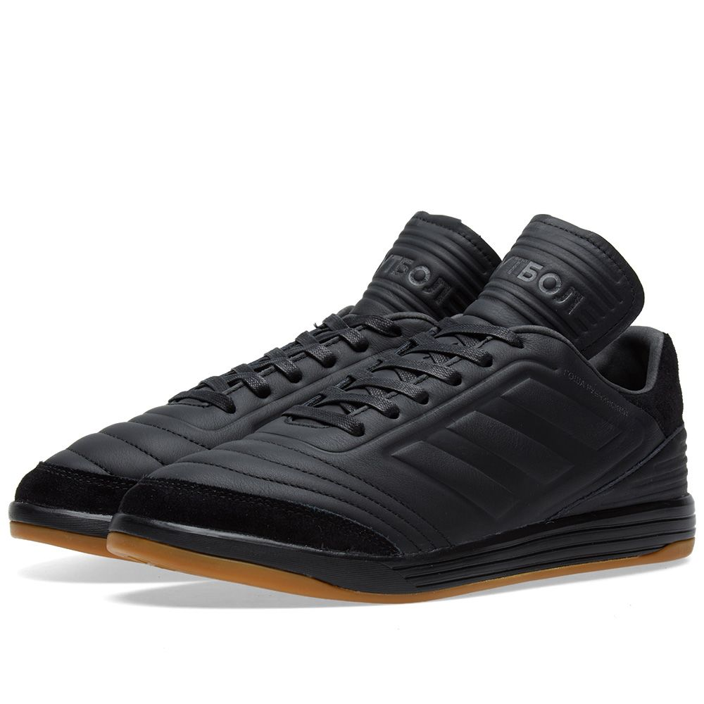 reputable site 2dff7 ac742 Gosha Rubchinskiy x Adidas Copa Trainer Black  END.