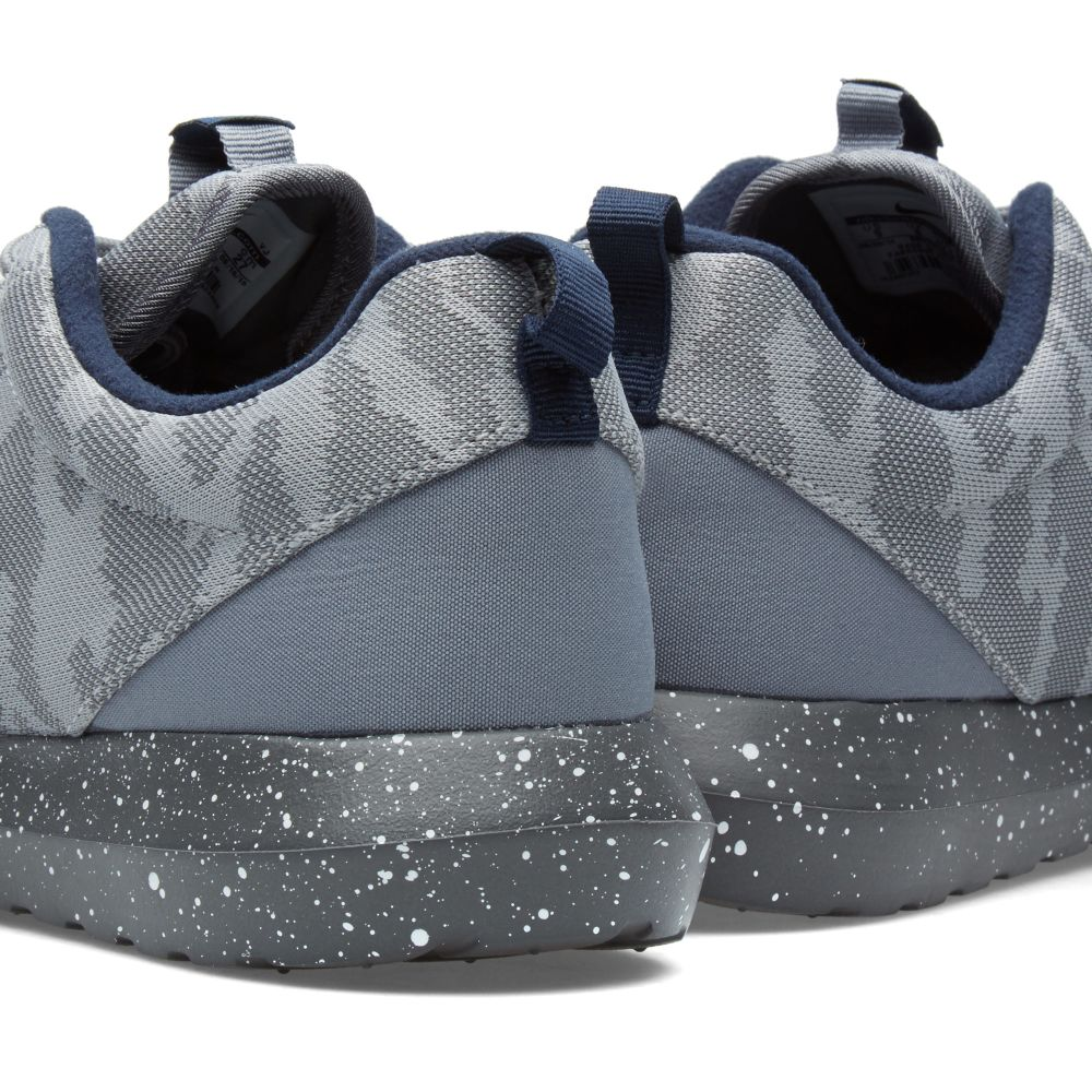 timeless design 7d513 01042 Nike Roshe NM FB Flat Silver   Obsidian   END.