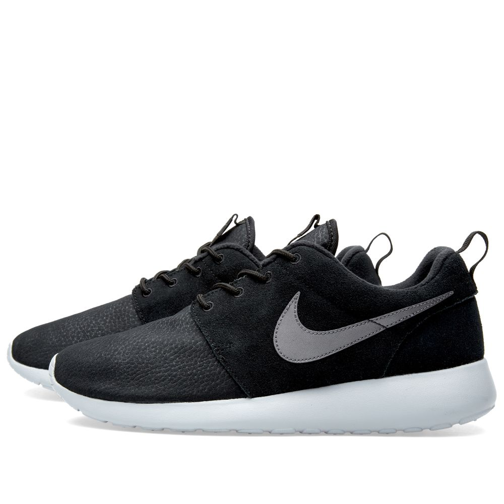 timeless design 938ca f1d90 Nike Roshe One Suede Black   Wolf Grey   END.