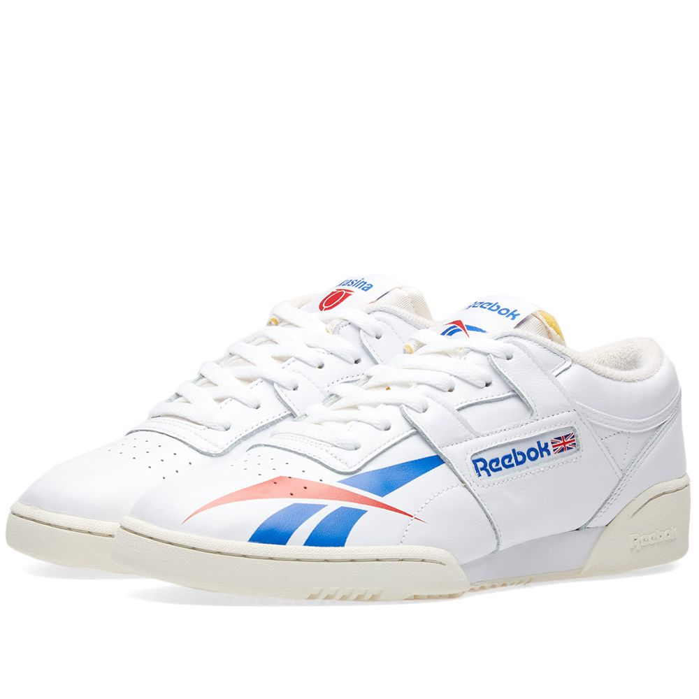 Reebok x Kasina Workout Clean White   Team Dark Royal  00edb35c1