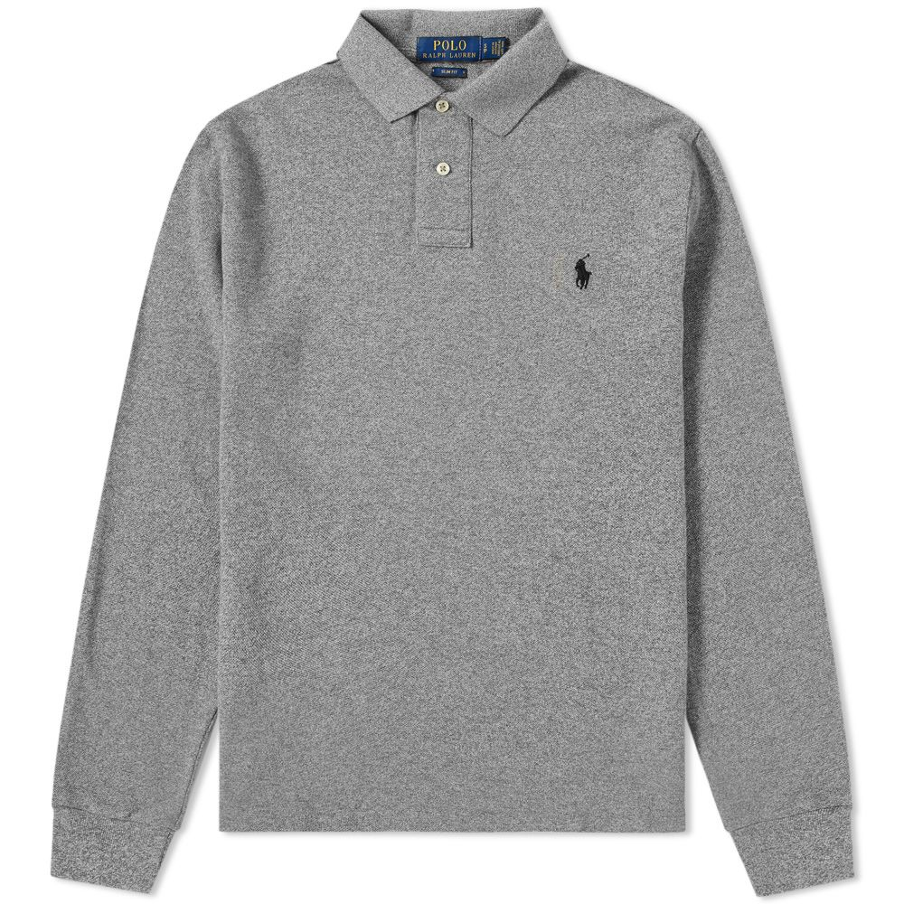 Polo Ralph Lauren Long Sleeve Slim Fit Polo Canterbury Heather End