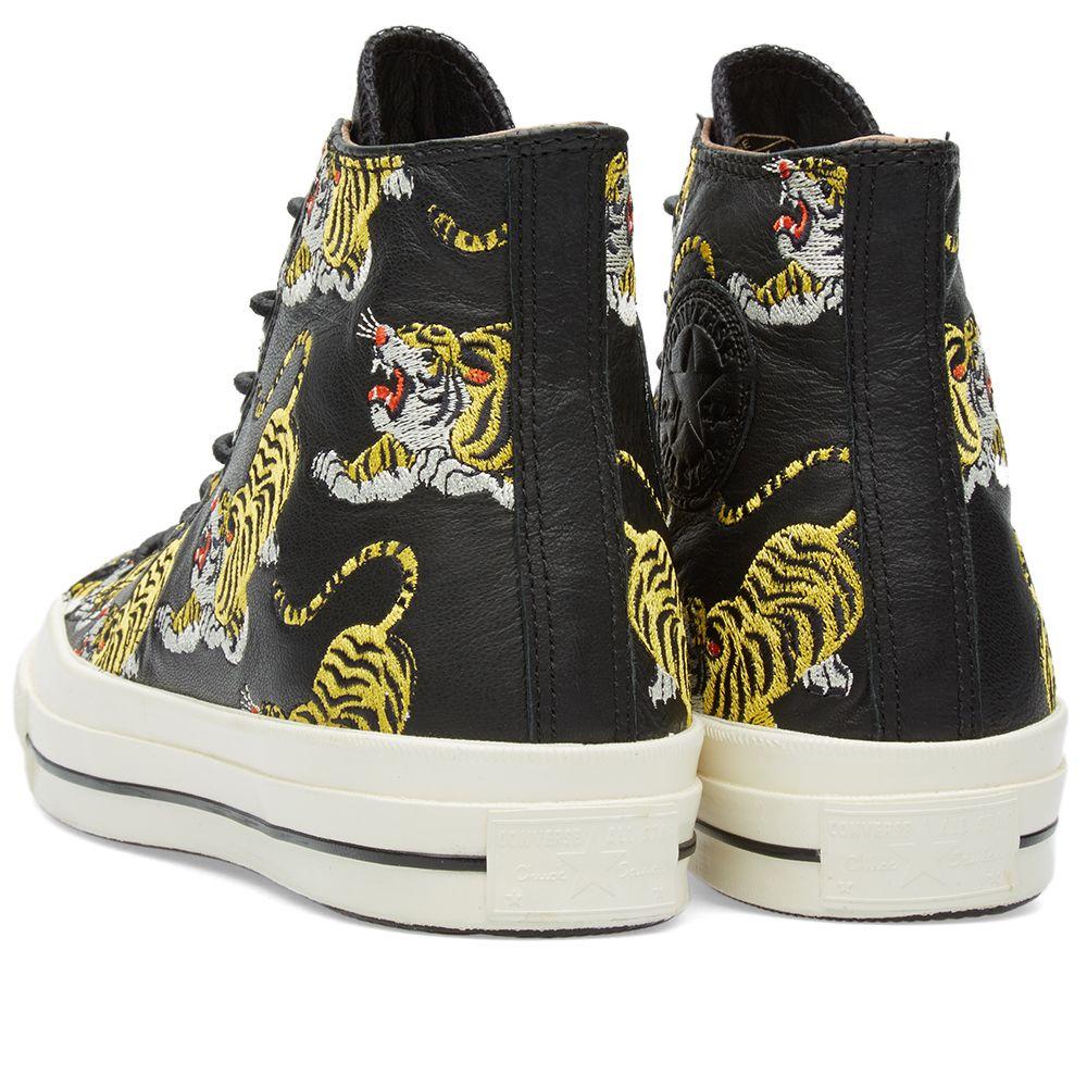 4707ae7a281517 Converse Chuck Taylor 1970s Hi Dokuro  Tiger  Tiger   Black