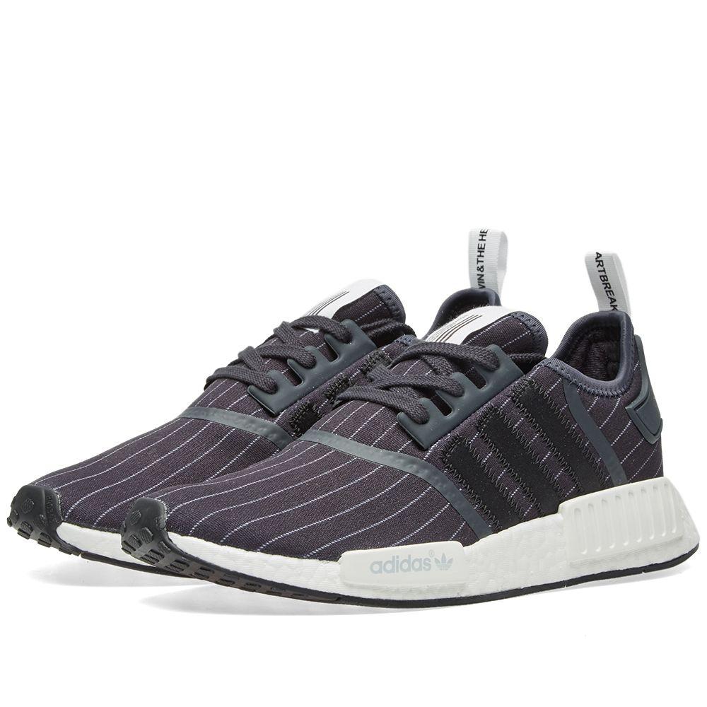 84f323a35 Adidas x Bedwin   The Heartbreakers NMD R1 Night Grey   Black