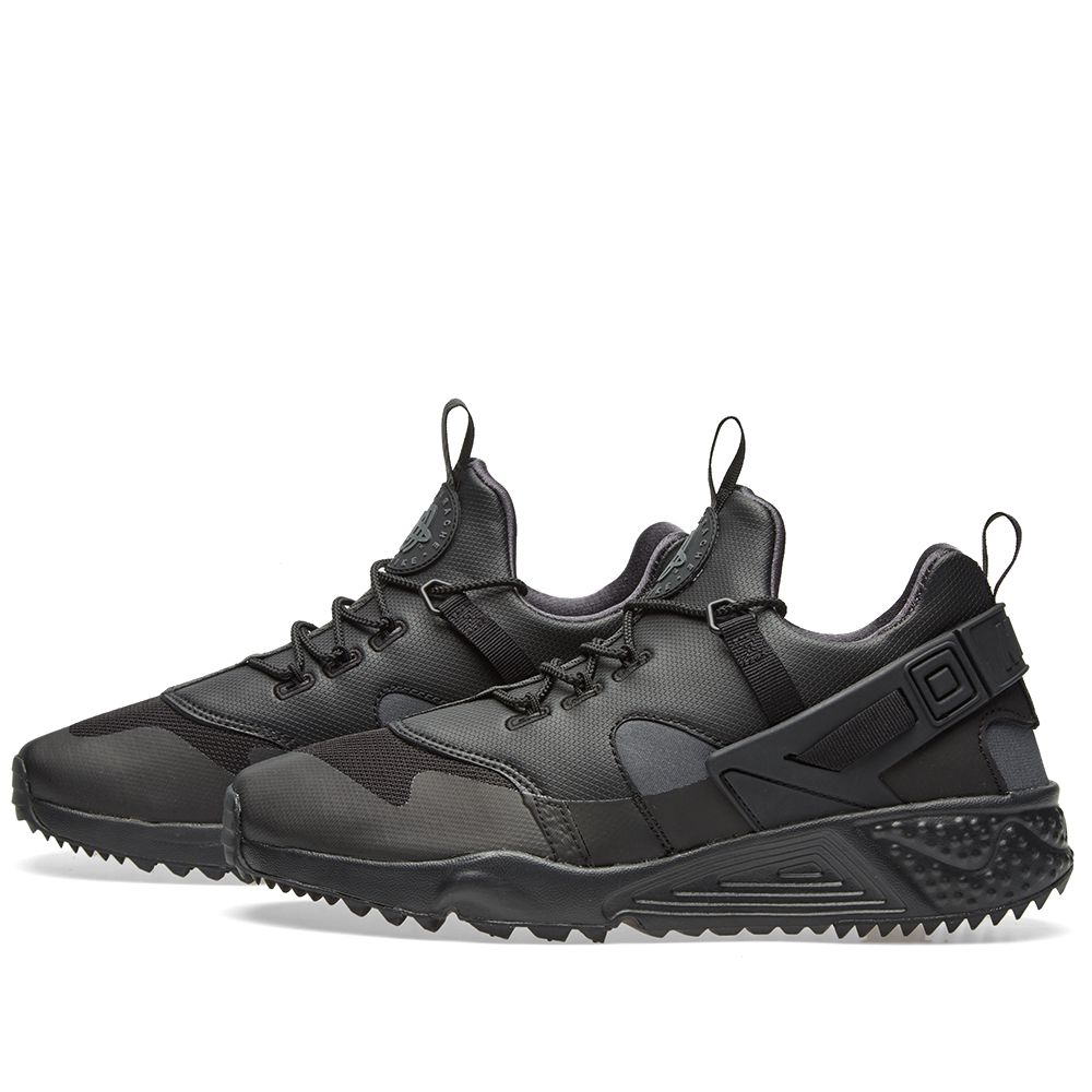 best service fb706 e0655 Nike Air Huarache Utility Premium Black  Anthracite  END.
