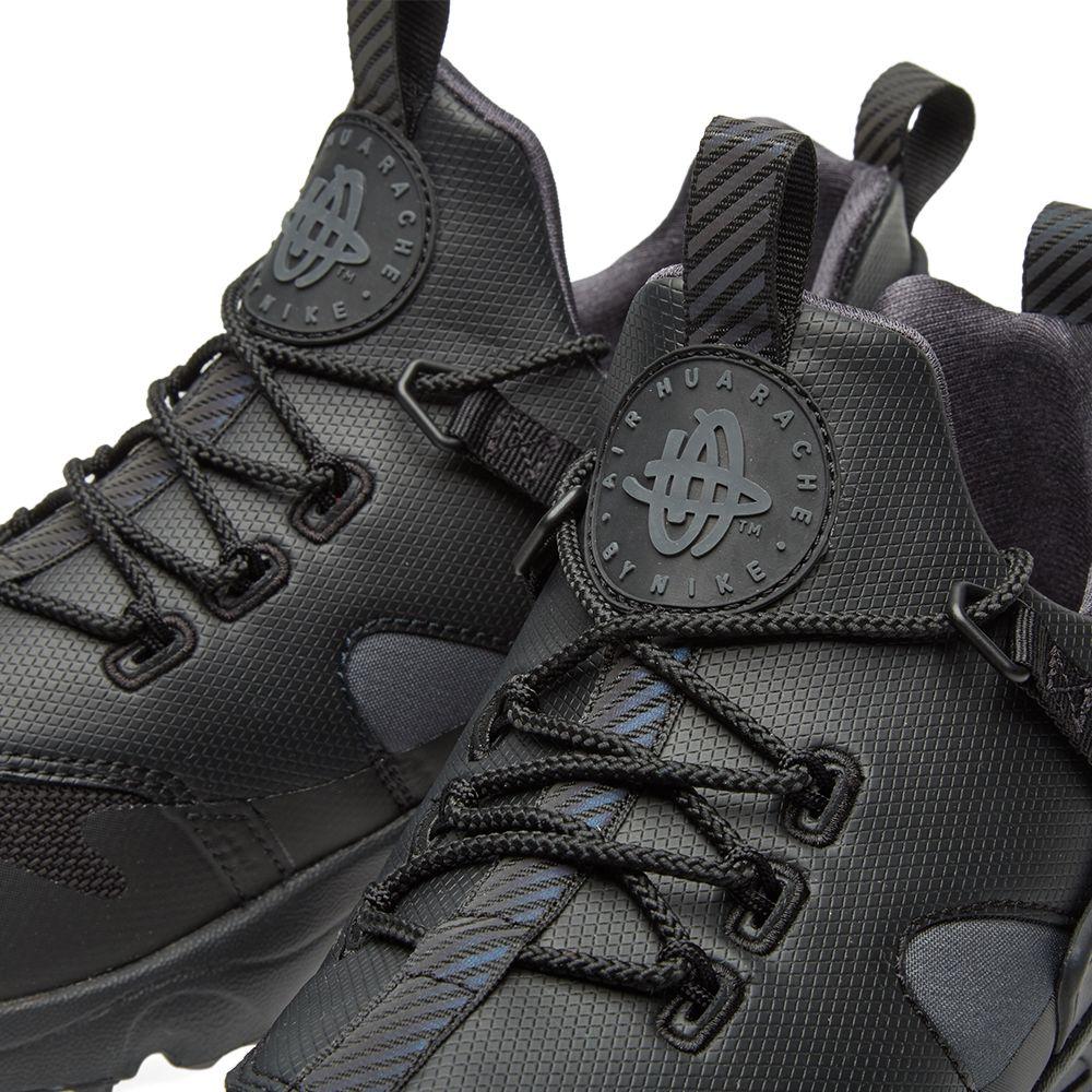 wholesale dealer 2b26d a2d73 Nike Air Huarache Utility Premium Black   Anthracite   END.