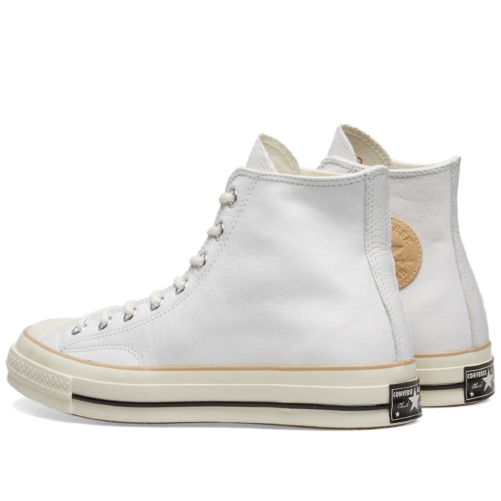 f79292effb2 Converse Chuck Taylor 1970s Hi Leather Boot. White