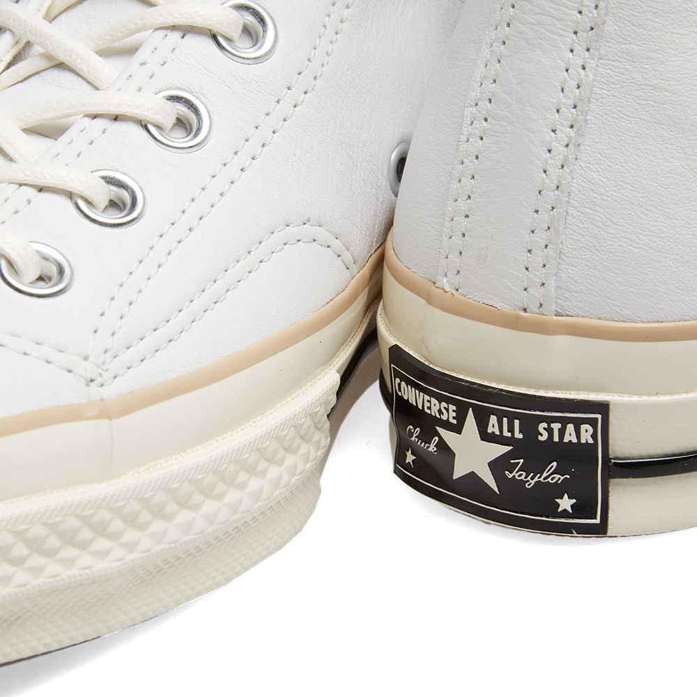 37c832148d2 Converse Chuck Taylor 1970s Hi Leather Boot White