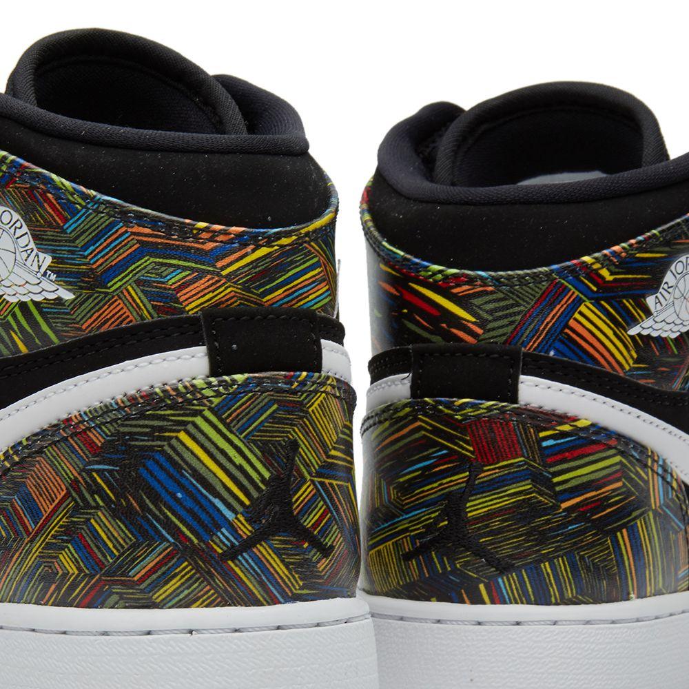 388508912 Nike Air Jordan 1 Retro High BHM GG Black