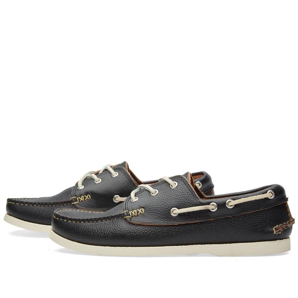 9c0074efd36b Yuketen Boat Shoe SG Black