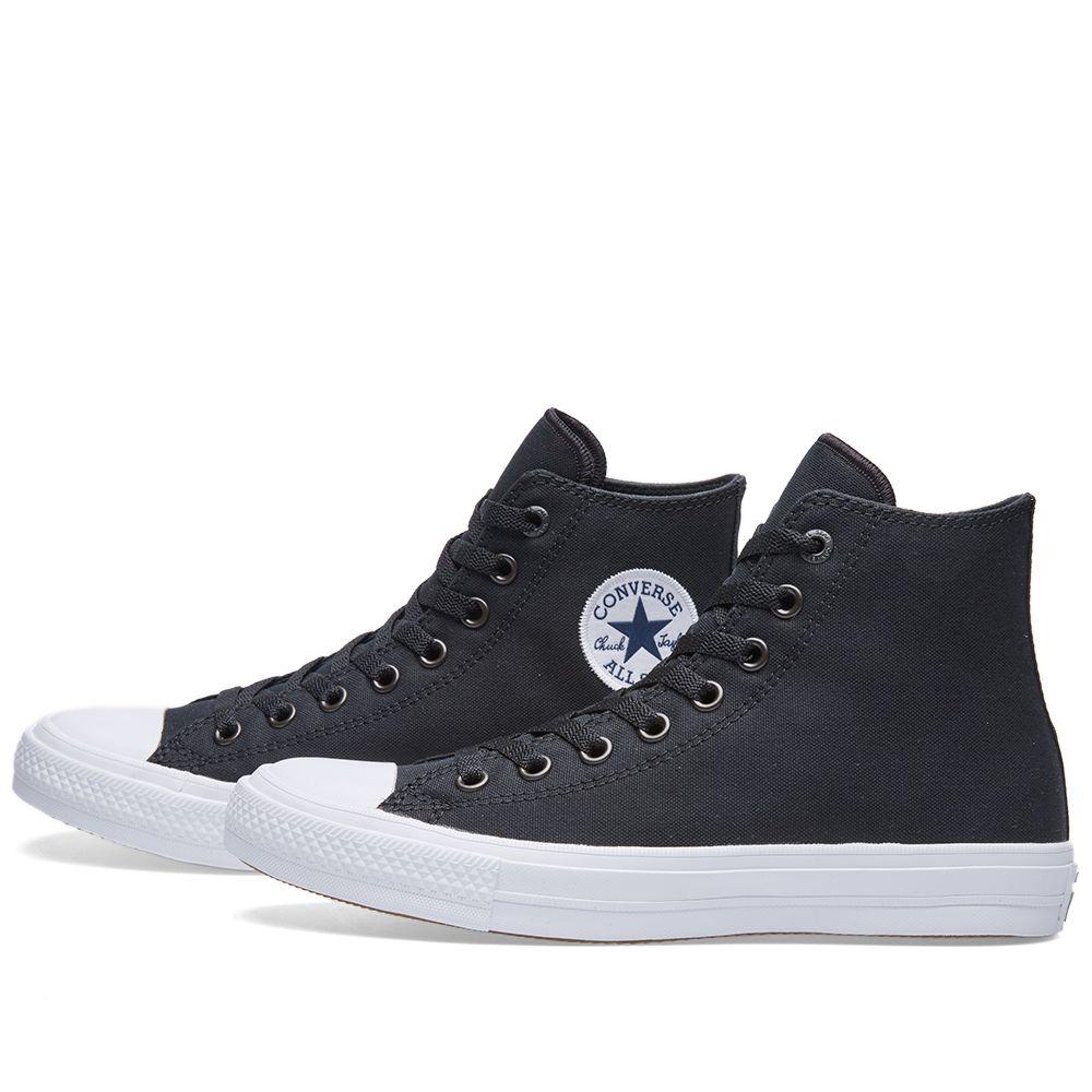 bb7a4886cf69 Converse Chuck Taylor II Hi Black