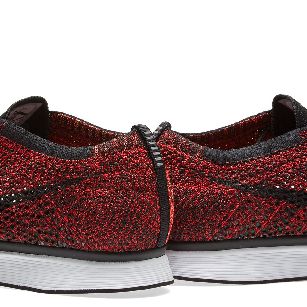 86d871c734b2 Nike Flyknit Racer University Red   Black